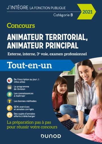 Concours Animateur territorial, animateur principal