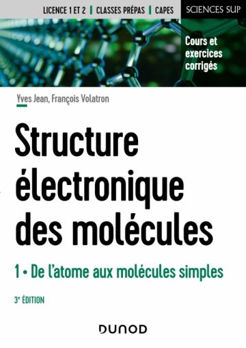 Structure électronique des molécules - T1