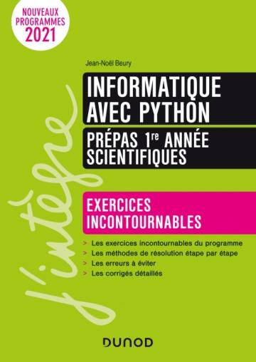 Informatique avec Python - Prépas 1re année scientifiques