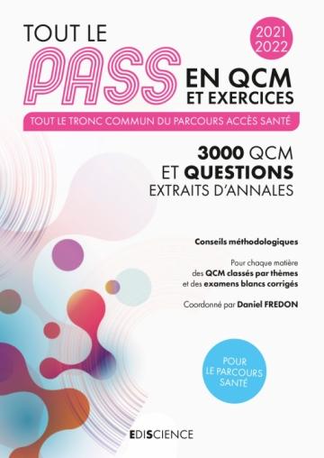 Tout le PASS en QCM et exercices 2021-2022
