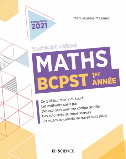 Maths BCPST 1re année