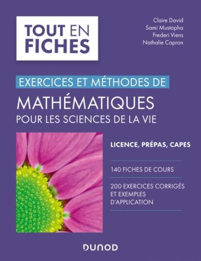 Mathématiques pour les sciences de la vie