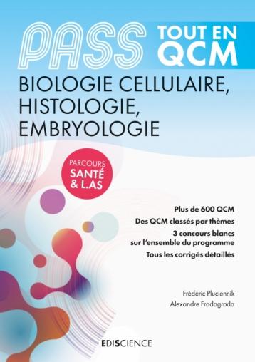 PASS Tout en QCM  - Biologie cellulaire, Histologie, Embryologie