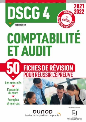 DSCG 4 Comptabilité et audit - Fiches de révision 2021/2022