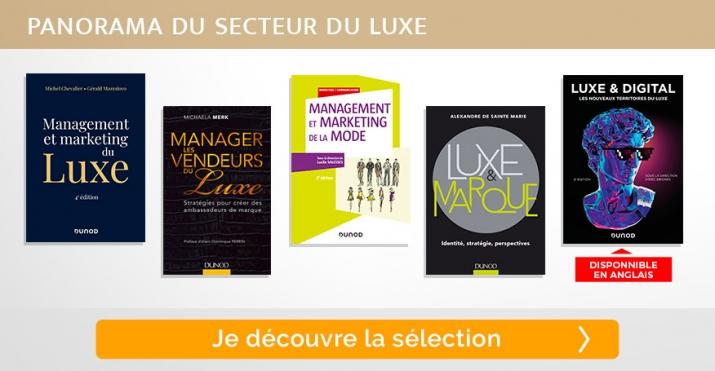Selection livre - Panorama du secteur du luxe