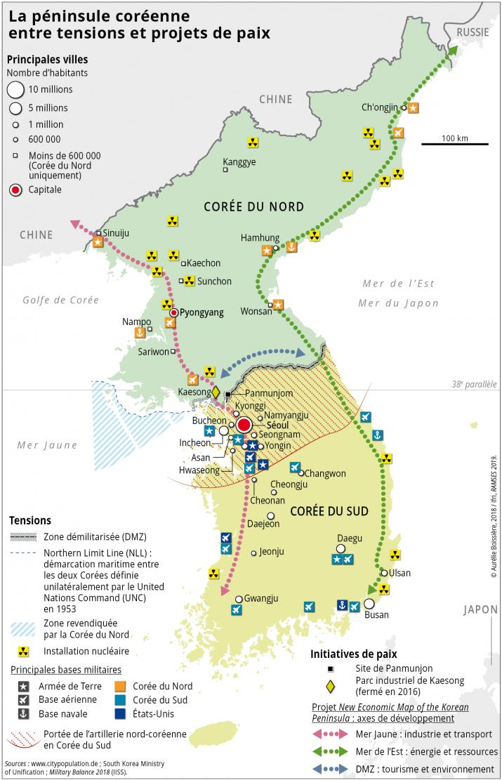 La péninsule coréenne entre tensions et projets de paix