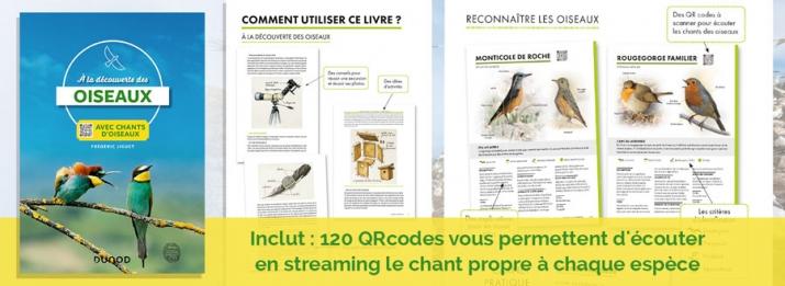 A la découverte des oiseaux avec 120 chants d'oiseaux à écouter