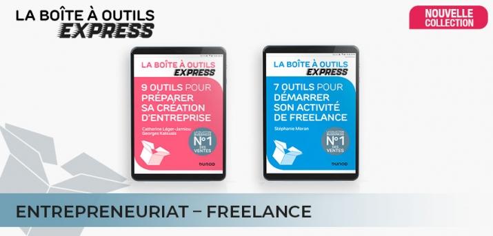 Les Boites à outils express en Entrepreneuriat et Freelance