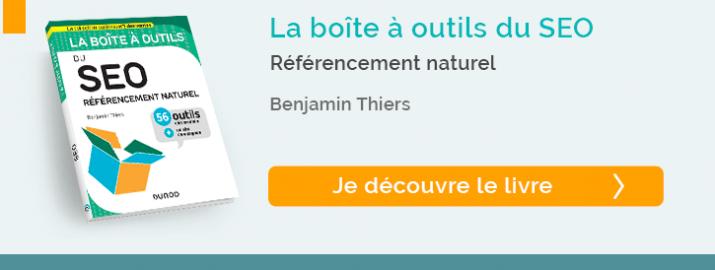 """decouvrez """"La boîte à outils du SEO - Référencement naturel"""""""