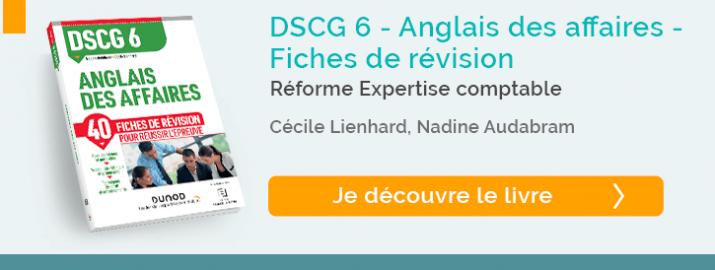 """decouvrez le livre """"Fiches de révisions DCG6 - Anglais des affaires"""""""