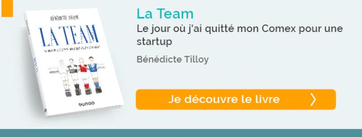 """Decouvrez le livre """"La Team"""""""