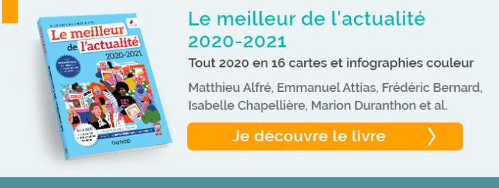 """Je découvre le livre """"meilleur de l'actualité 2020 2021"""""""