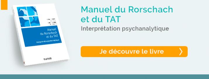 Decouvrez le Manuel du Rorschach et du TAT