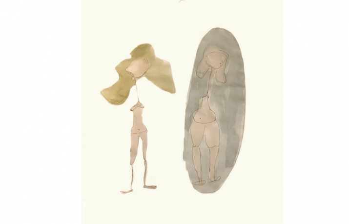dysmorphophobie : perception d'une patiente a travers un miroir