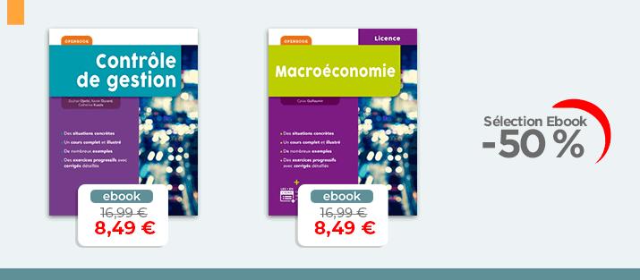 Selection Ebook Eco - gestion à -50%