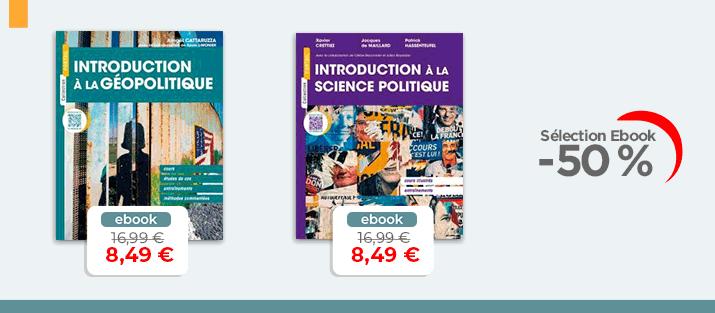Selection Ebook Géopolitique - Sciences Politique à -50%