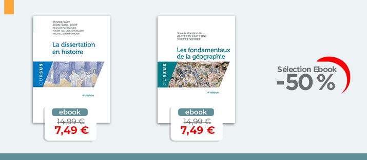 Selection Ebook - Histoire Géographie à -50%