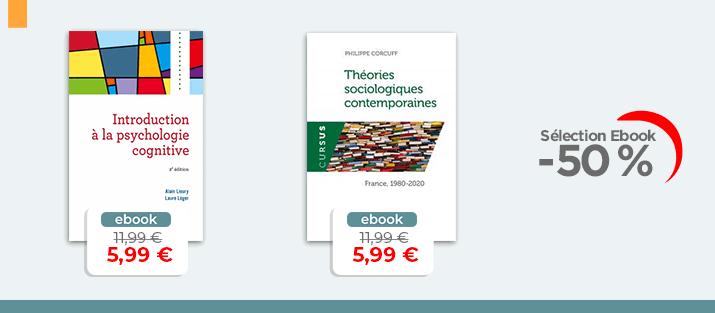 Selection Ebook - Sciens Humaines et sociales à -50%