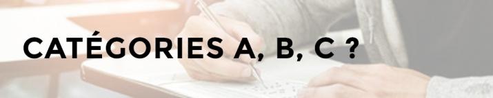 Fonction publique : tous savoir sur les catégories A, B, C