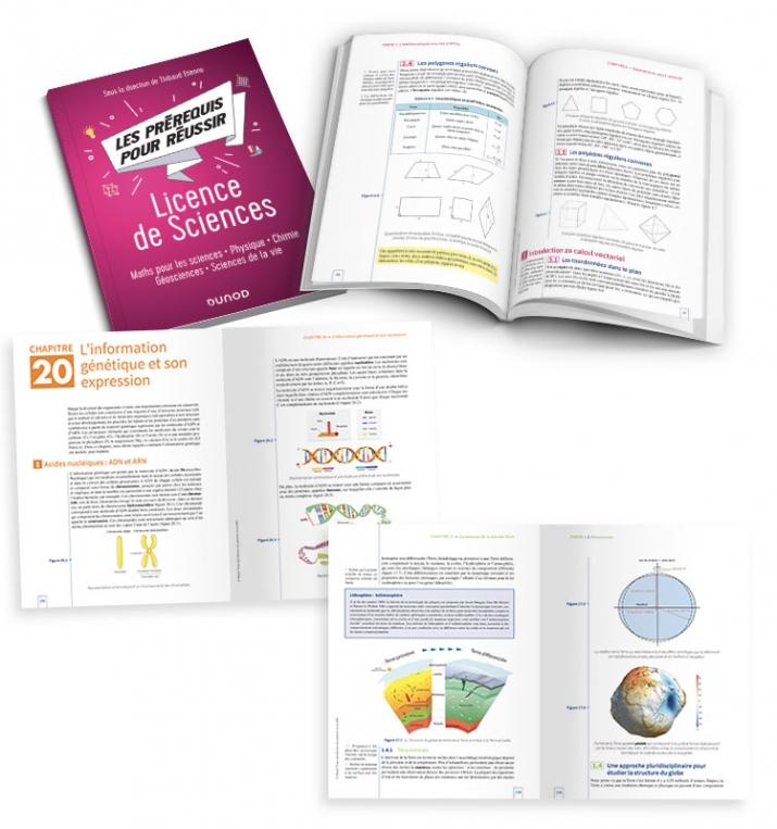 Les prérequis pour réussir - Licence de Sciences - illustrations