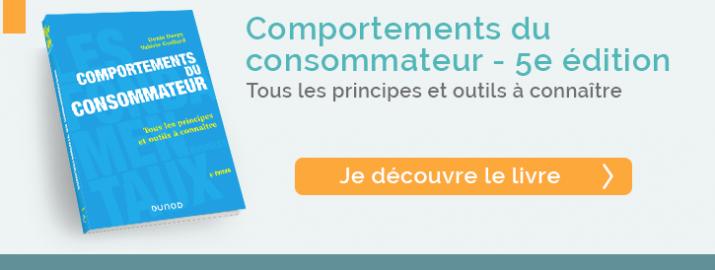 """Je découvre le livre """"Comportements du consommateur - 5e édition"""" de la nouvelle collection """"Les fondamentaux business, Dunod"""""""