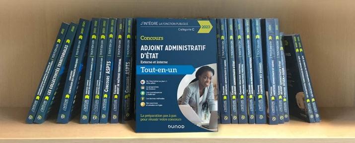 Livre pour se préparer au concours d'adjoint administratif d'état