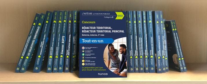 Livre idéal pour préparer le Concours Rédacteur territorial