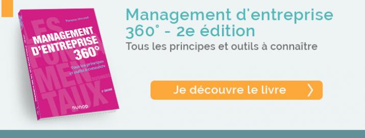 """Je  découvre le livre """"Management d'entreprise 360°"""" de la nouvelle collection """" Les fondamentaux business"""""""
