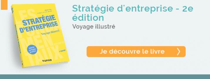 """Je découvre le livre Stratégie d'entreprise - de la nouvelle collection """"Les fondamentaux business, Dunod"""""""