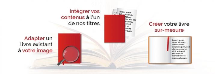 Atelier Dunod : conception et réalisation de livres personnalisés