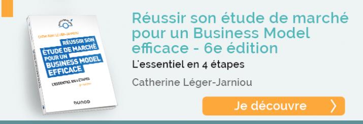 """je découvre le livre """"Réussir son étude de marché pour un Business Model efficace"""""""