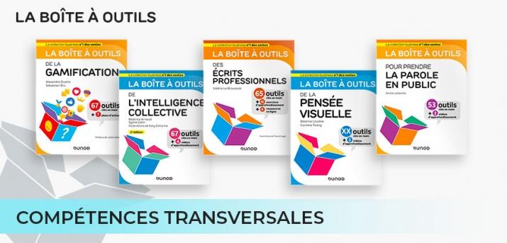 """Sélection Compétences transversales des """"boîtes à outils"""" Dunod"""