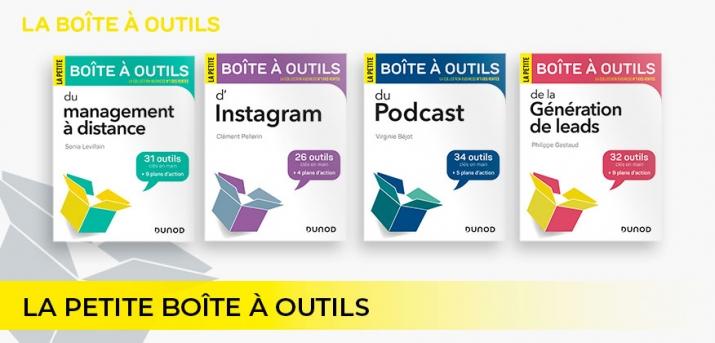 """Sélection des petties """"boîtes à outils"""" Dunod"""