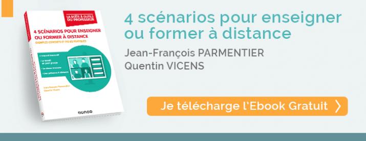 telecharger Ebook 4 scénarios pour enseigner ou former à distance