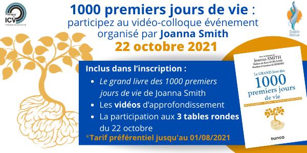 Inscription video colloque - joanna smith - Octobre 2021
