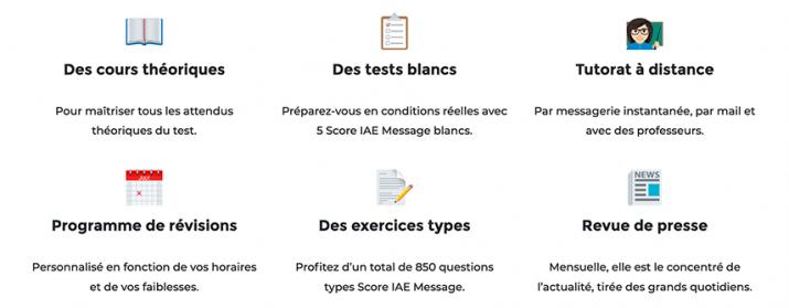 Votre préparation au Score IAE-Message