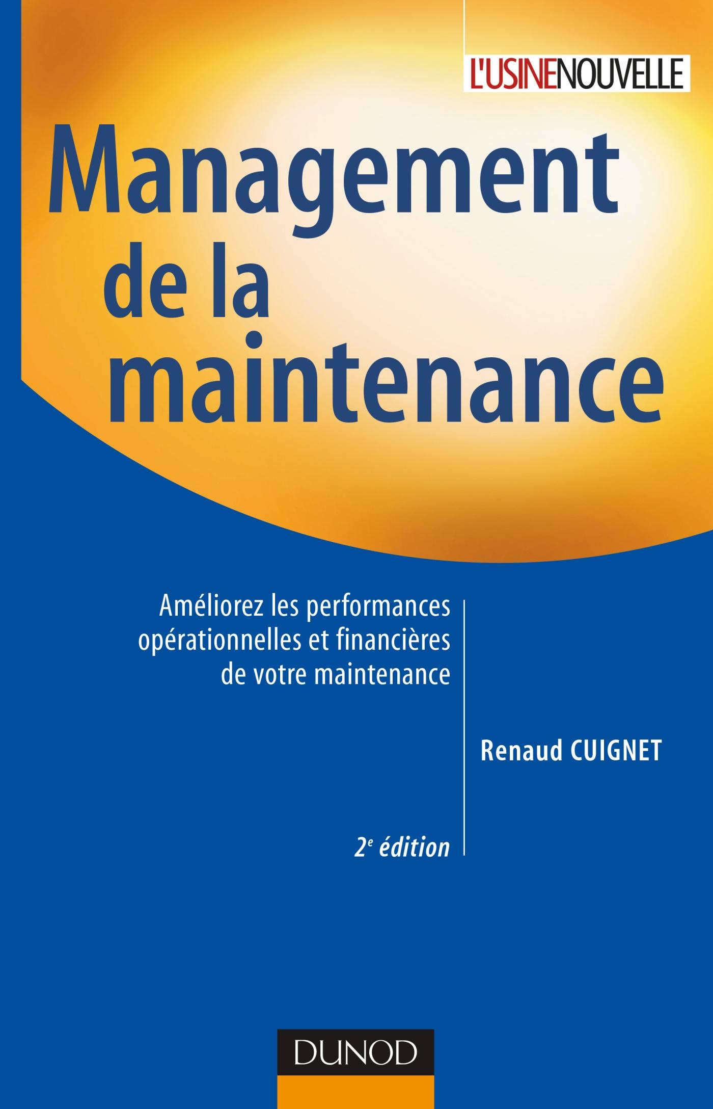 Favori Management de la maintenance - Améliorez les performances  RB55
