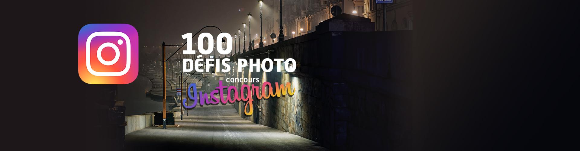 """Concours Instagram """"100 défis photo"""""""