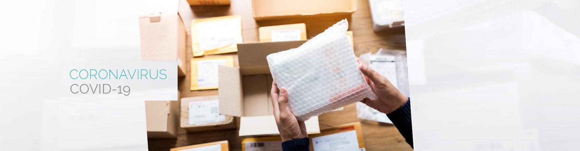 Covid-19 la livraison des livres Dunod