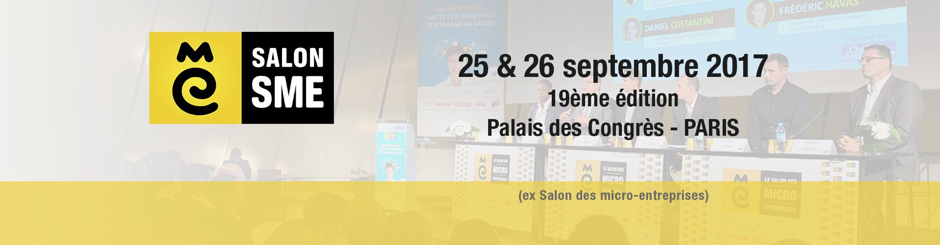 Dunod partenaire du salon sme 2017 dunod for Salon entreprise