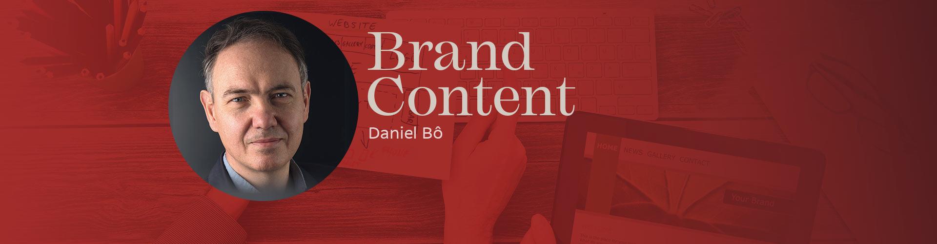 Brand Content : découvrez l'ouvrage de Daniel Bô