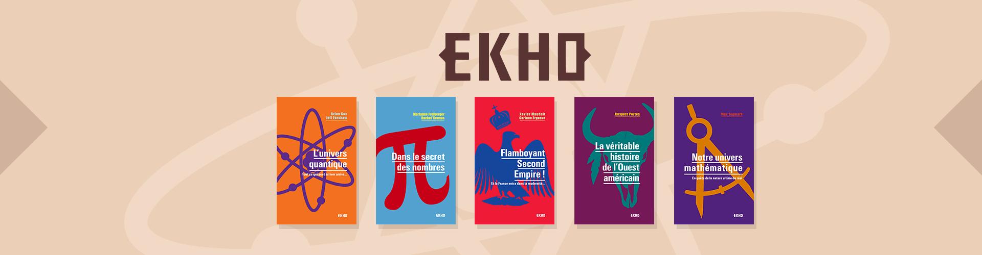 Collection EKHO - Nos plus belles découvertes en poche