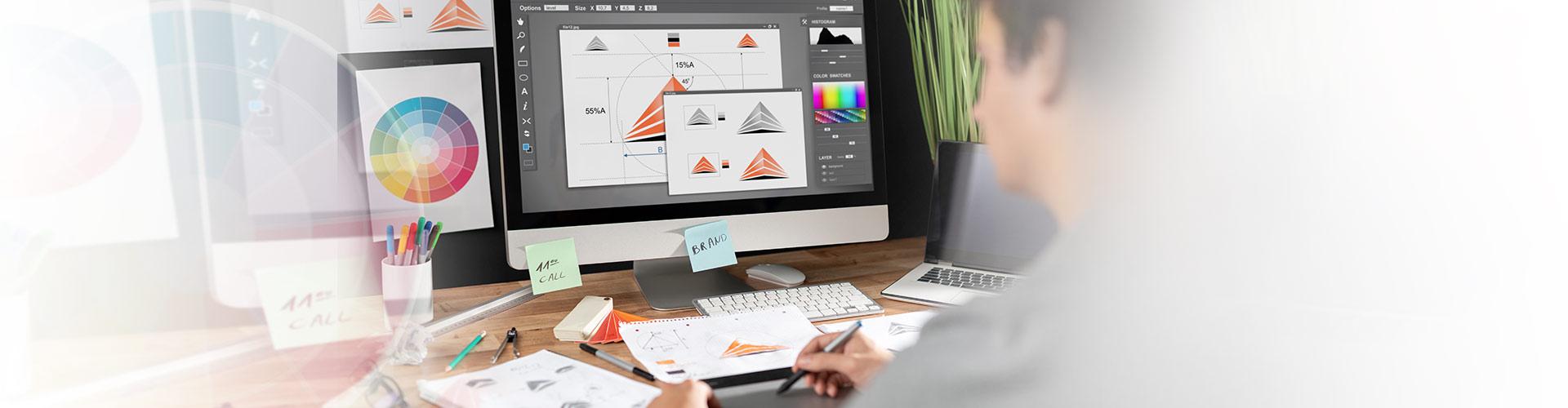 Concevoir et réaliser une identité visuelle multi-supports