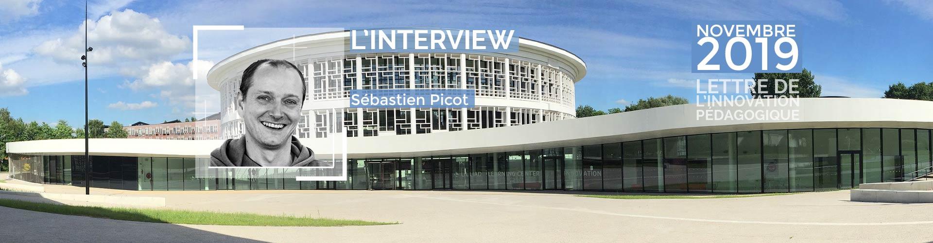 Interview de Sébastien Picot, ingénieur pédagogique