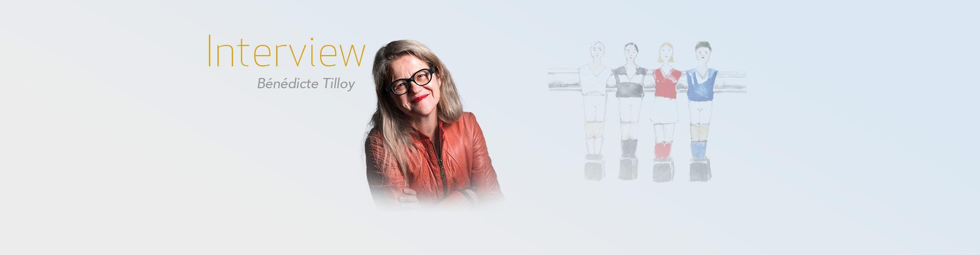 """Rencontre avec Bénédicte Tilloy pour son livre """"la Team"""""""