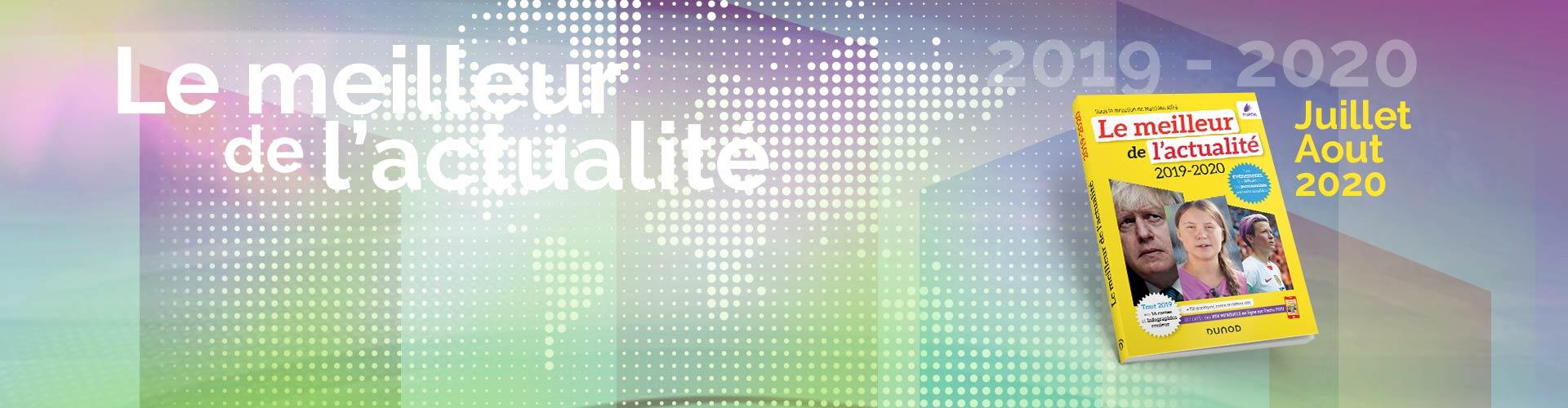 Les rendez-vous de l'actualité- Juillet et Aout 2020