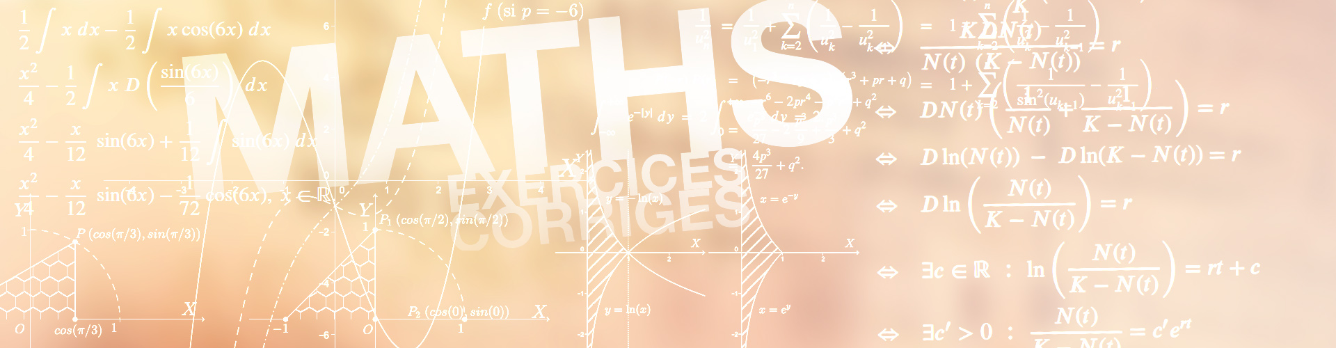 maths 1350 cm3 d'exercices corrigés pour la licence 1